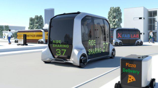La e-Palette de Toyota se estrenará en los Juegos Olímpicos de 2020 en Tokio.