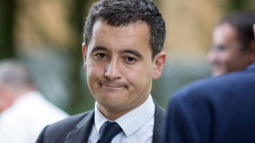 El ministro francés de Hacienda, Gérard Darmanin