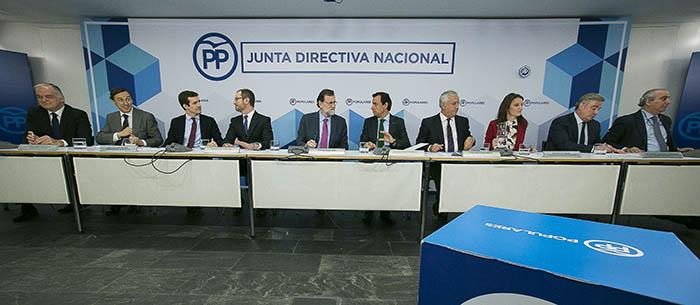 Junta Directiva del PP.