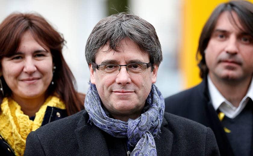 Puigdemont ha jurado este martes la Constitución.