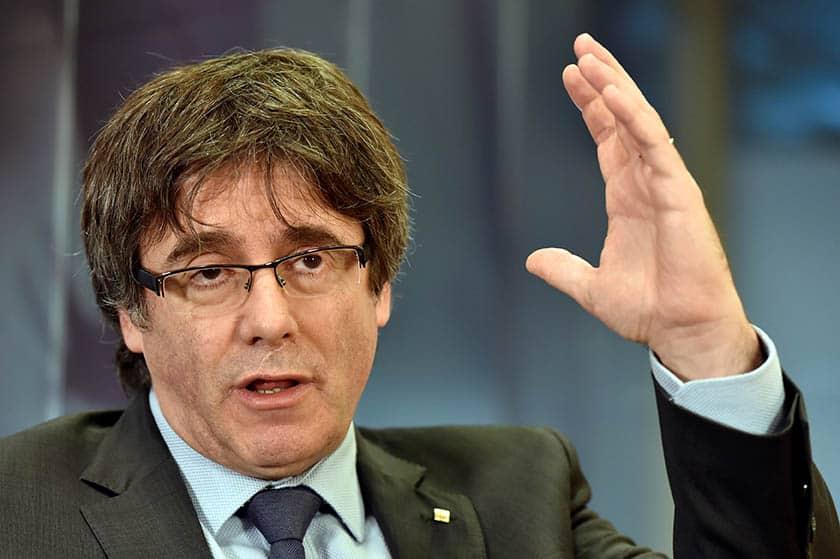 El Supremo enviará a Alemania pruebas de la rebelión de Puigdemont
