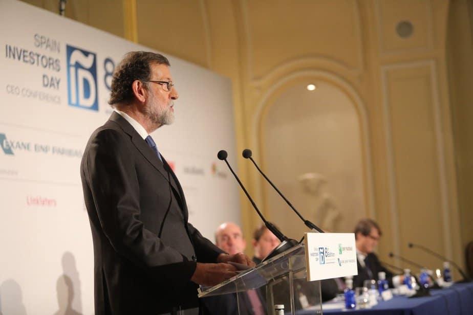 Rajoy en el Spain Investor Day llamó a combatir el populismo