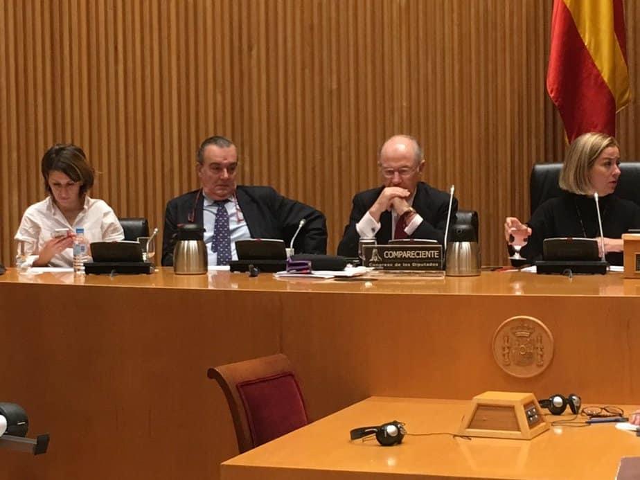 Rato ante el Congreso pasó factura al Gobierno de Rajoy
