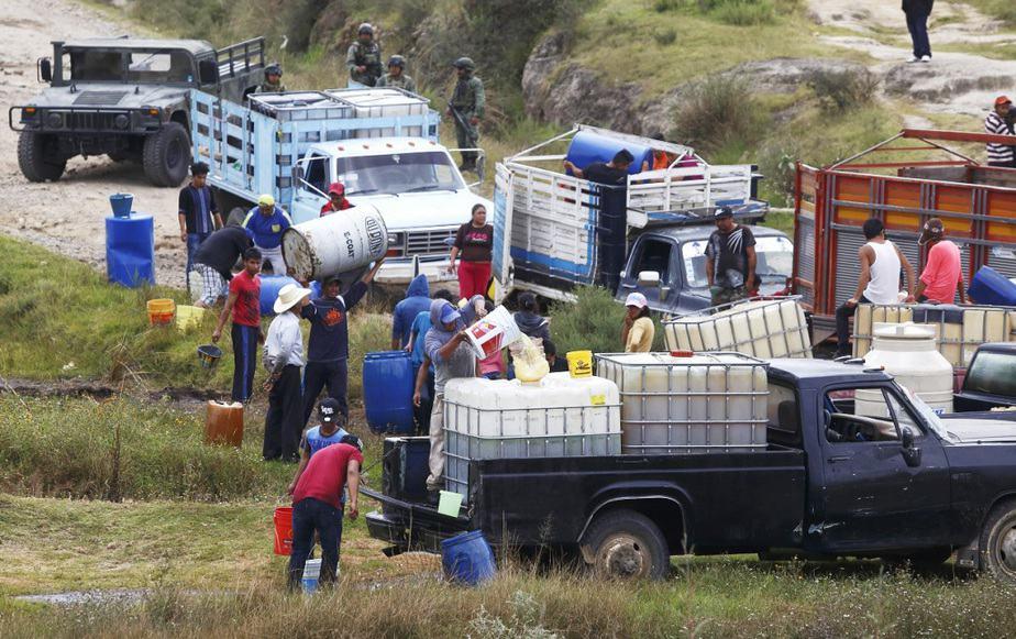 El robo de combustibles en México se ha ido incrementando