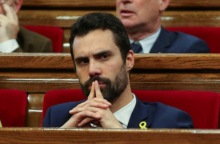 Roger Torrent no ha descartado una investidura a Puigdemont