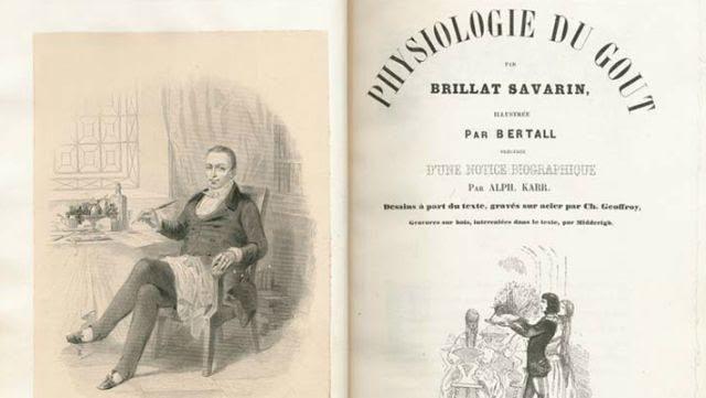 El libro seminal de Jean Brillat-Savarin sobre gastronomía, The Physiology of Taste