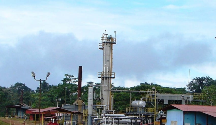 La infraestructura petrolera colombiana