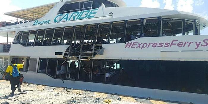 Explosión de ferry