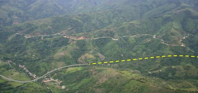 Túnel del Toyo. Comienzan las obras del túnel del Toyo, el más largo de Latinoamérica