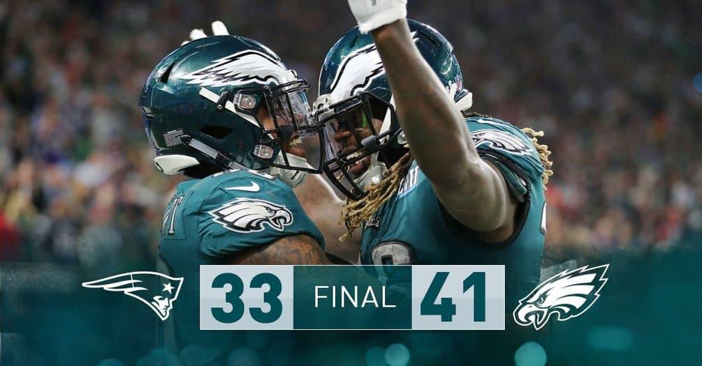 Philadelphia Eagles ganan el Super Bowl 2018 por primera vez