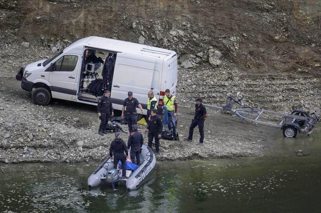 Pantano de Susqueda. Detenido el presunto autor del doble crimen de los jóvenes desaparecidos en Girona