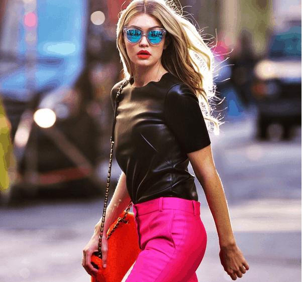 Gigi Hadid: mezcla de elegancia e informalidad
