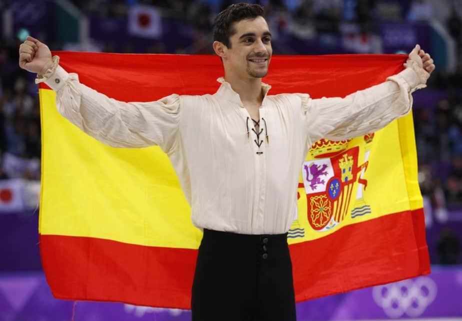 Medalla de bronce. Javier Fernández, bronce en patinaje, segunda medalla española en Pyeongchang