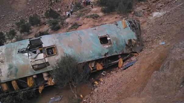 Accidente en Arequipe