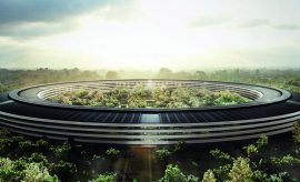Accidentes del Apple Park