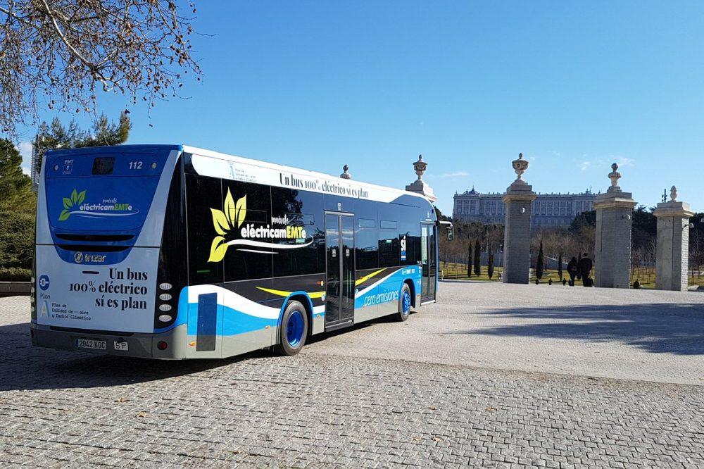 Los autobuses eléctricos de la EMT ya ruedan por Madrid