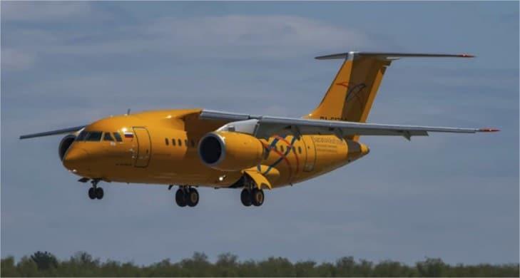 Avión en Rusia se estrella con 71 personas a bordo