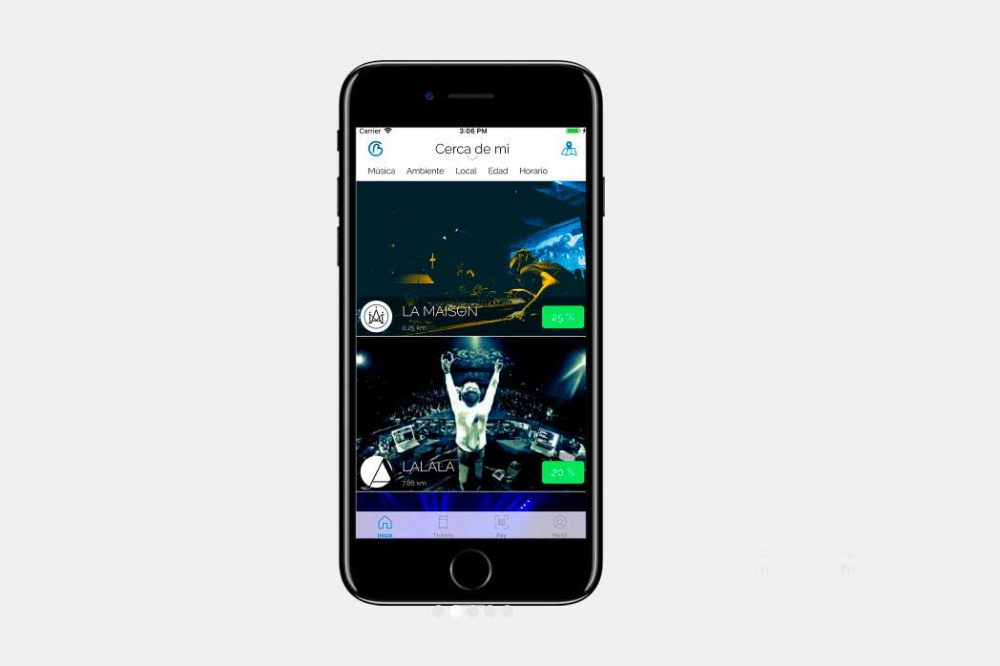 Bclubber es una joven start-up española que tiene por objetivo liderar la digitalización en locales de ocio nocturno
