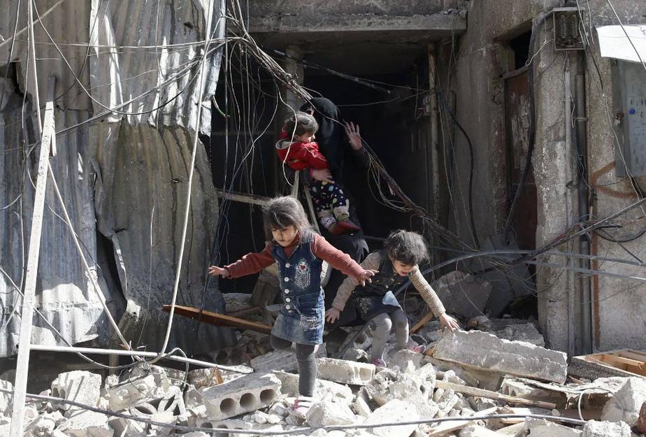 Bombardeo en Siria ha dejado muda a Naciones Unidas