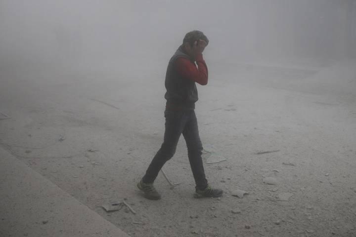 Bombardeos en Siria, los más sangrientos en los últimos tres años