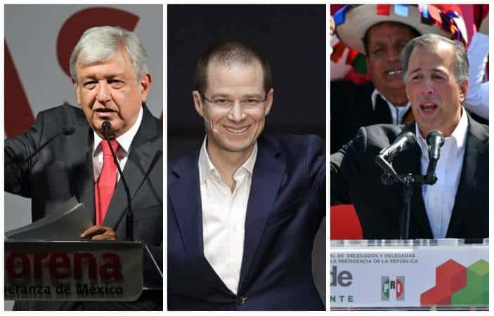 Resultado de imagen para mexico candidatos 2018