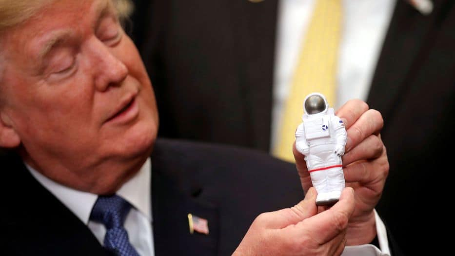 Privatizar la carrera espacial: el nuevo plan de Trump
