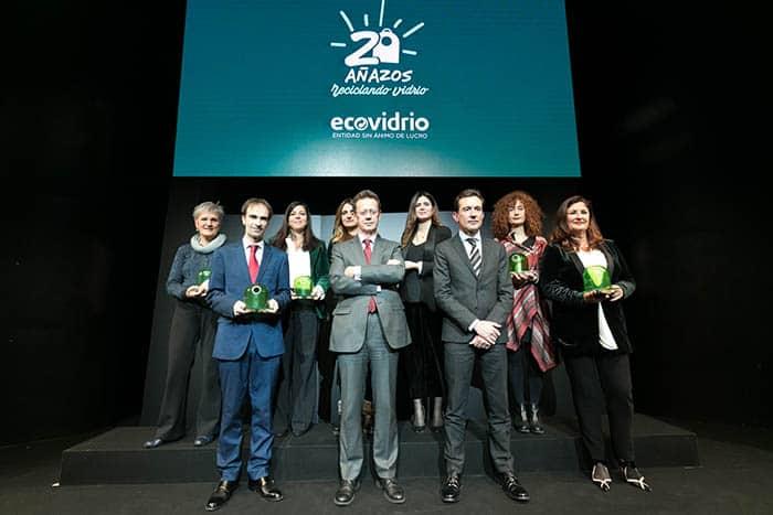 Ecovidrio premia la sostenibilidad.