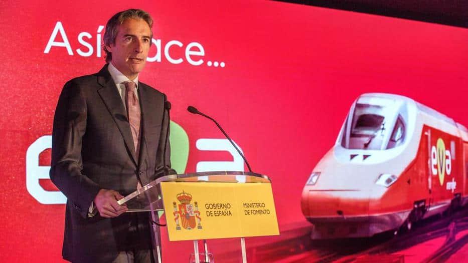 El EVA de Renfe unirá a Barcelona y Madrid en 2019.