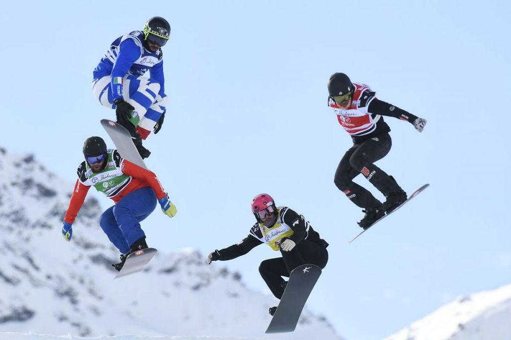 lugares para practicar snowboard cross en España