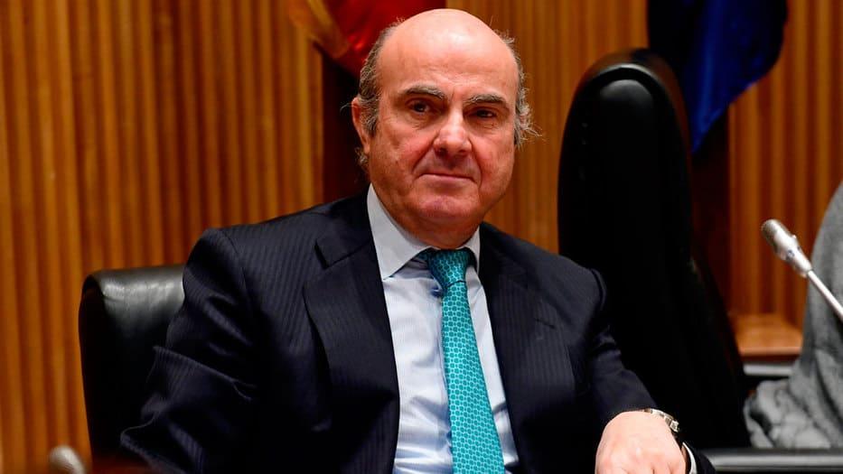 De Guindos asumirá la vicepresidencia del BCE en junio