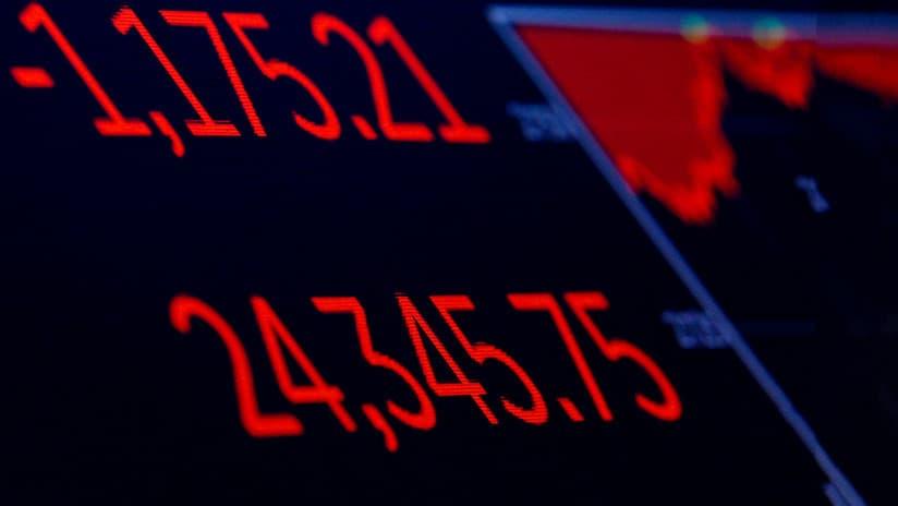 """Martes Negro"" en Wall Street"