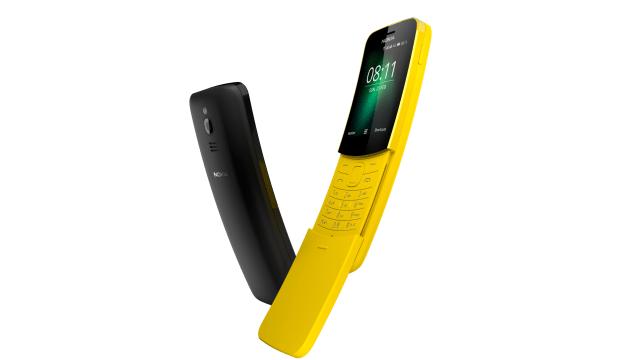 El Nokia 8110 famoso en Matrix se reinventa en el MWC