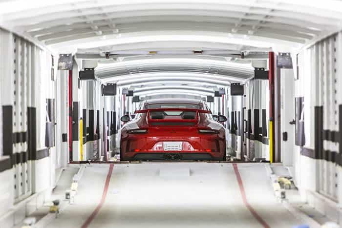 Porsche apuesta por el transporte logístico sostenible.