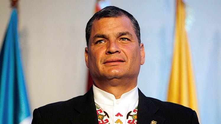 La Justicia de Ecuador dicta orden de prisión contra el expresidente Rafael Correa
