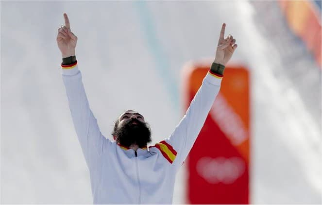 Regino Hernández medalla de bronce en Pyeongchang