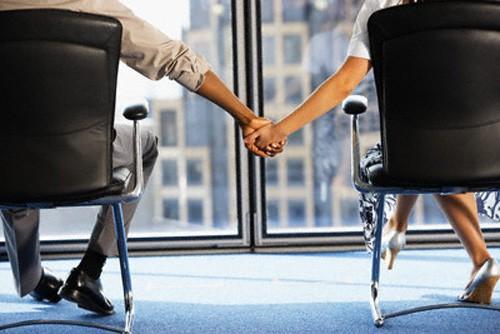 Relaciones sentimentales en el trabajo