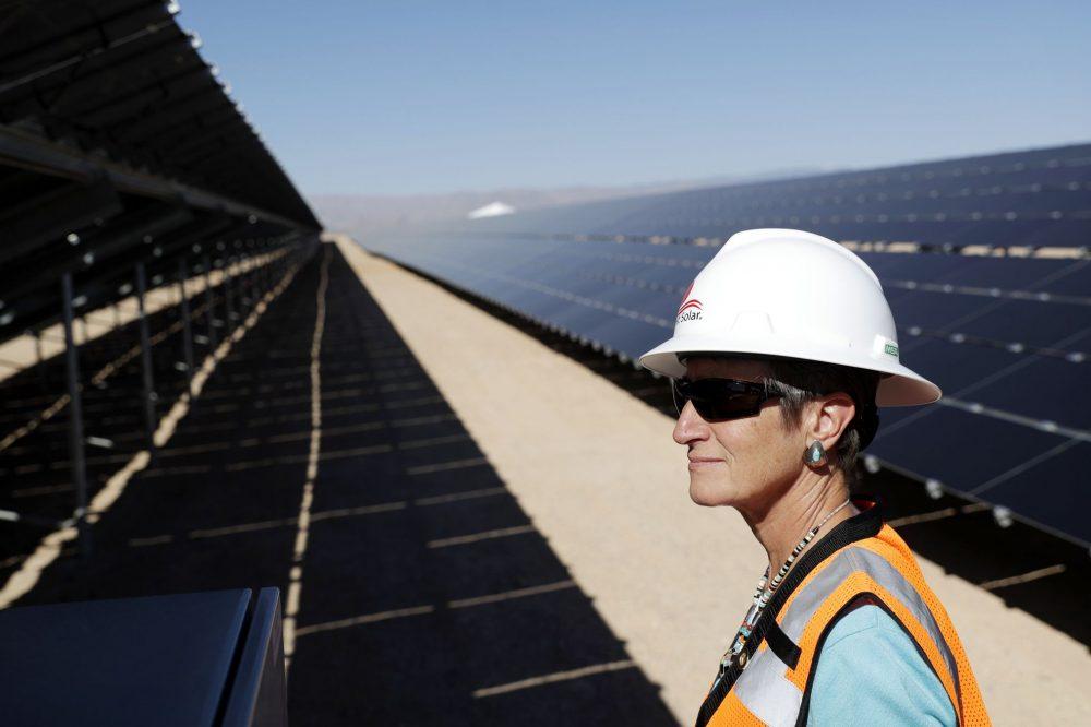 Energía renovable en Estados Unidos establece récord en 2017