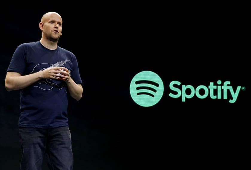 El fundador de Spotify, Daniel Ek.