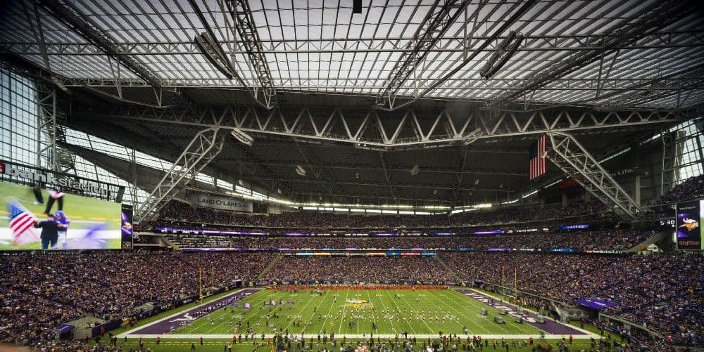 El estadio del Super Bowl 2018, el US Bank Stadium