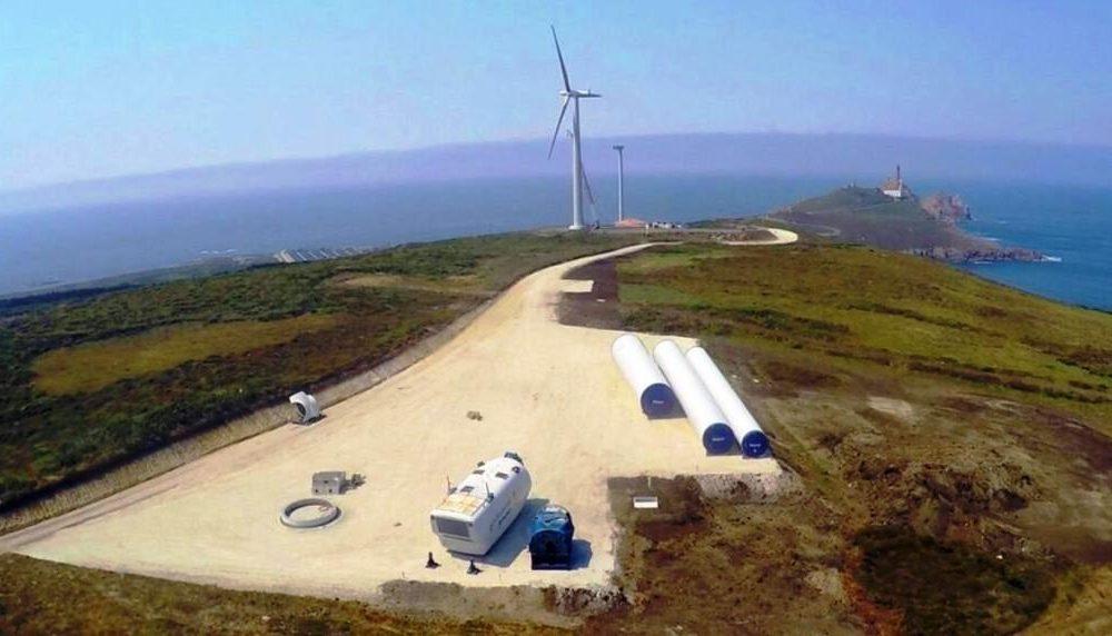 Construyen parque eólico de Extremadura