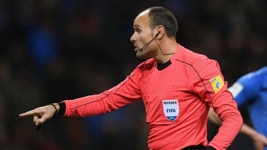 36 árbitros para el Mundial de Rusia 2018