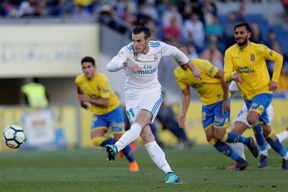 Bale lideró al Madrid en Las Palmas