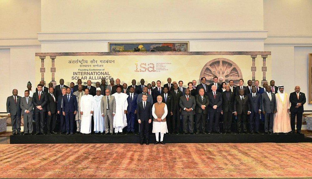La Cumbre de Alianza Solar se desarrolla en La India