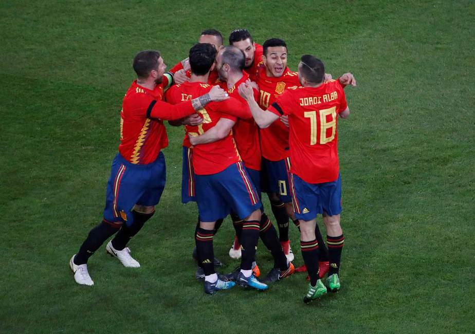 Amistoso España y Alemania