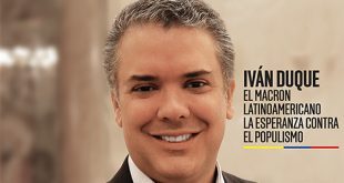 Estelares en la TV colombiana Cambio16 e Iván Duque