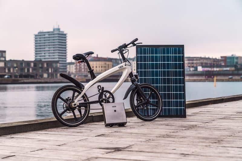 Una bicicleta eléctrica con energía solar revoluciona el mercado
