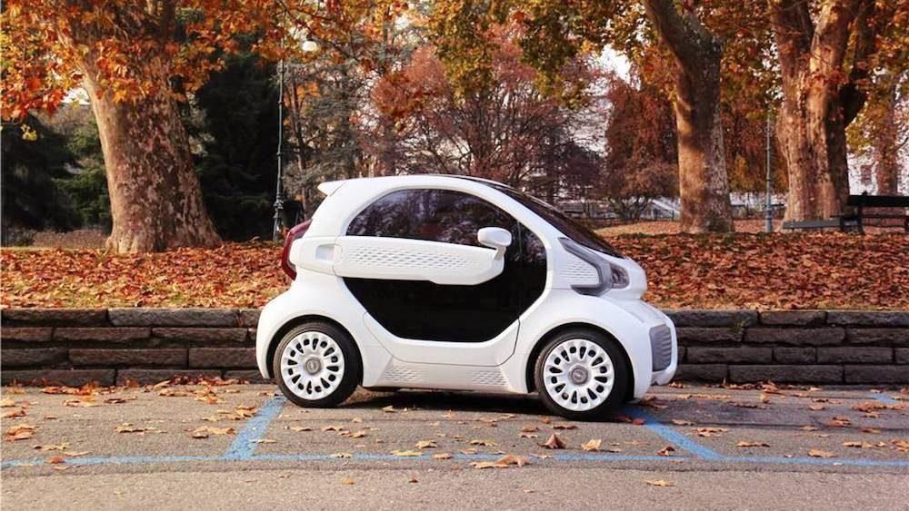 Este es el LSEV el nuevo coche eléctrico innovador