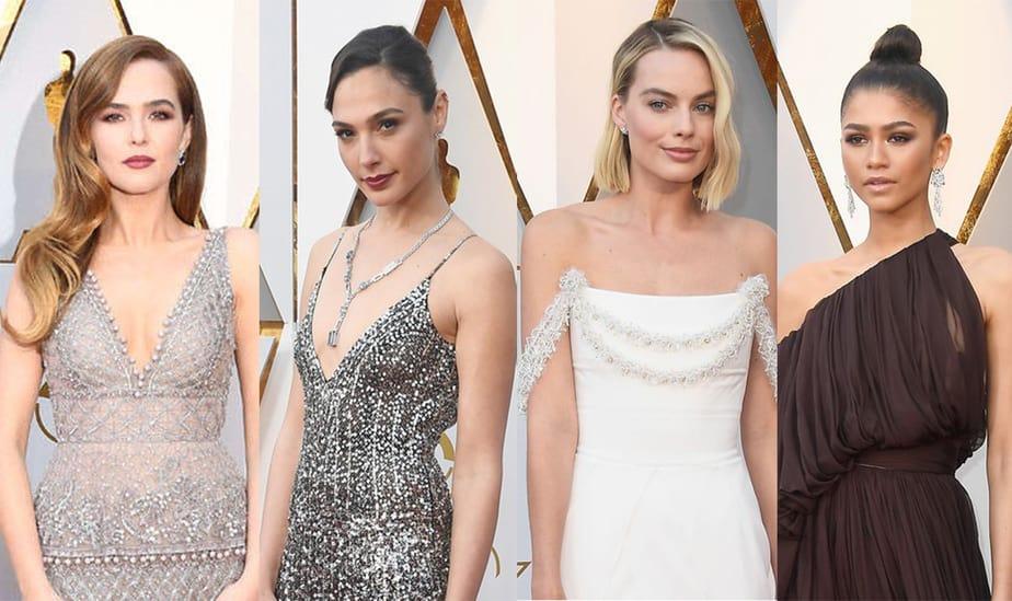 Premios Óscar 2018: los mejores vestidos de la alfombra roja