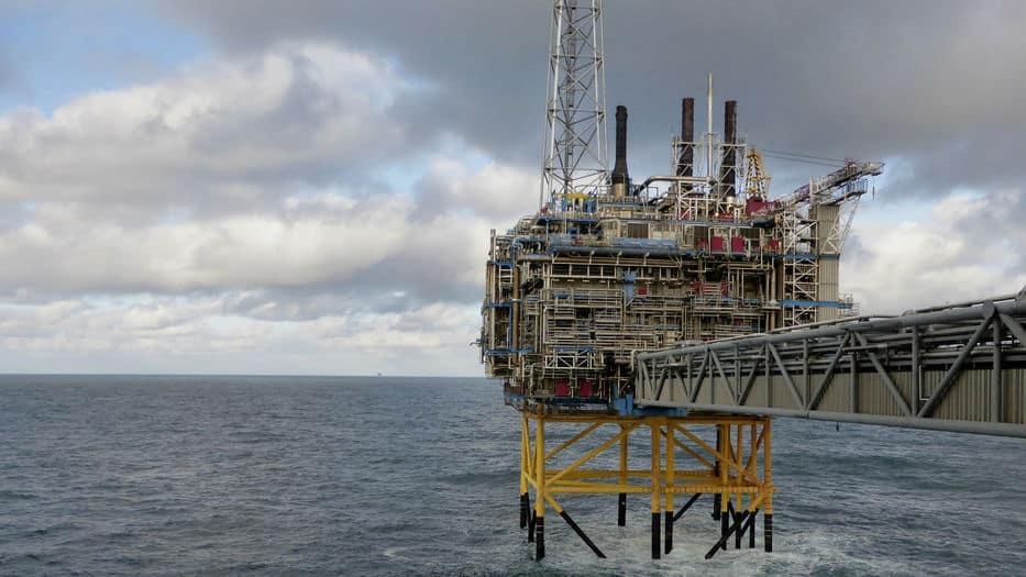 Sale más Petróleo en el Mar del Norte