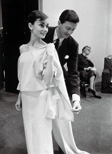 Hubert de Givenchy dijo adiós al mundo de la moda